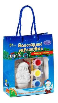 Набор для творчества Bondibon новогодние украшения снеговик