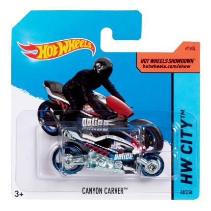 Мотоцикл Hot Wheels Canyon Carver Vehicle 5785 CFH68