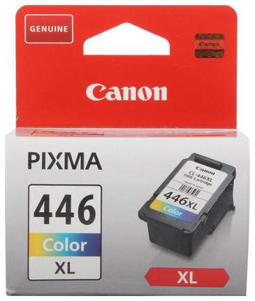 Картридж для струйного принтера Canon CL-446XL Color цветной, оригинал