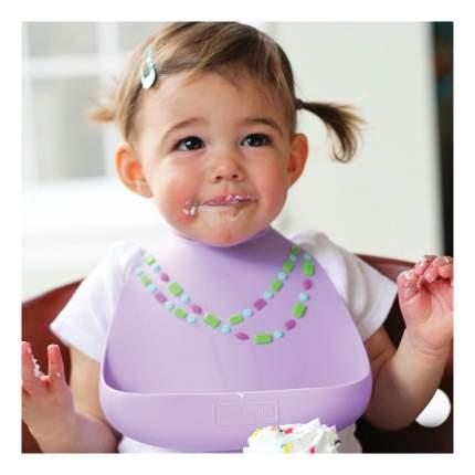 Нагрудник Make my day Baby Lilac Jewels