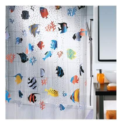 Штора для ванной Spirella Fish 1021960