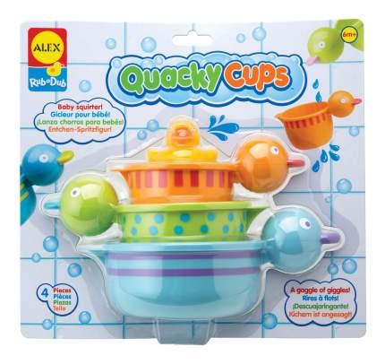 Игрушка для купания ALEX Чашки- уточки