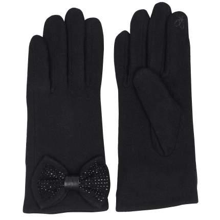 Женские перчатки черного цвета Pia Rossini Jolie_black