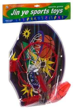 Баскетбольный щит с мячом и насосом Shenzhen toys 23 см Ф33650