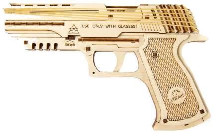Конструктор деревянный Ugears Пистолет Вольф-01 70047