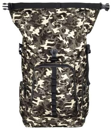 Рюкзак для ноутбука Hama Roll-Top 00101819 Камуфляж, коричневый