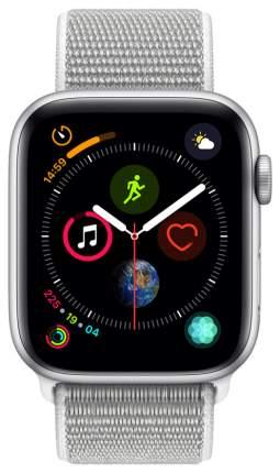 Смарт-часы Apple Watch Series 4 44mm Silver Al/Seashell Sport Loop (MU6C2RU/A)
