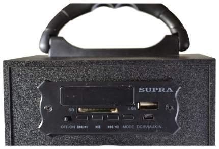 Магнитола Supra BTS-550 Черный