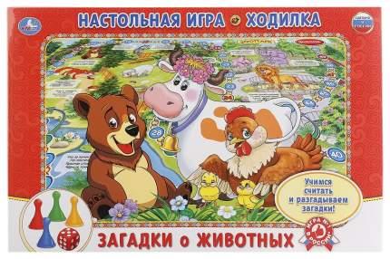 Семейная настольная игра Умка Загадки Про Животных