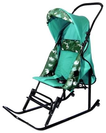 Санки-коляска R-Toys Шустрик-Имго-6 бирюза