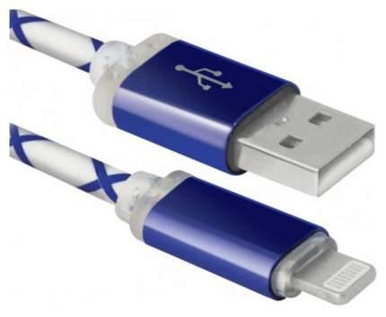 Кабель Defender ACH03-03LT 1м Blue
