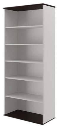 Шкаф книжный Pointex Свифт-9 POI_33147 90х45х207, белый/дуб темный