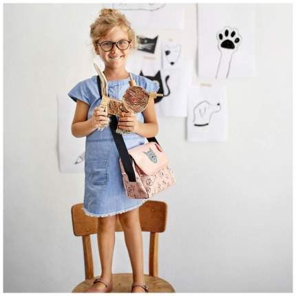 Сумка детская Everydaybag kids cats and dogs rose Reisenthel для девочек Розовый IF3064