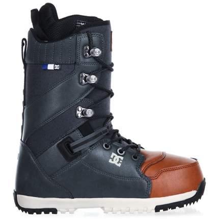 Ботинки для сноуборда DC Mutiny 2019, серые/коричневые, 27.5