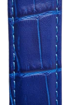 Ремешок для часов из кожи Signature 111561-20 синий 20 mm