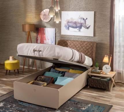 Кровать с подъемным механизмом Cilek Lofter 100х200 см, бежевый