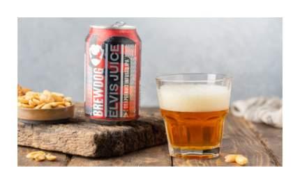 Пиво темное Brewdog Elvis Juice 0.33 л