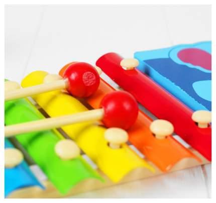 """Музыкальная игрушка """"Металлофон. Улитка"""", 8 тонов Sima-Land"""