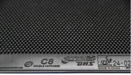 Накладка DHS C8, 1.0 C8-Black