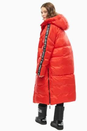 Пуховик женский Odri 19210106-1 красный S; M