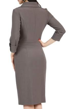 Платье женское Grey Cat GPL00225V(RORY) коричневое 48 RU