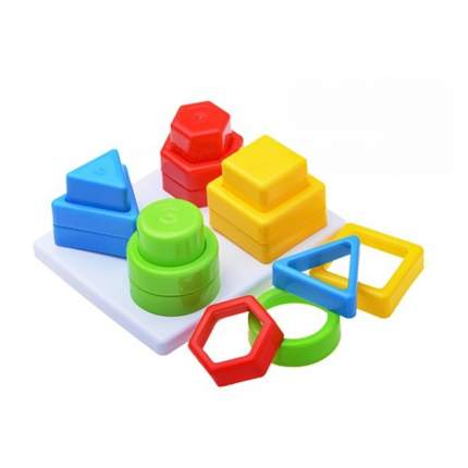 Развивающая игрушка stellar чудо-пирамидка