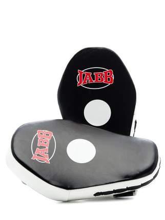 Боксерская лапа Jabb JE-2198 черно-белая One Size
