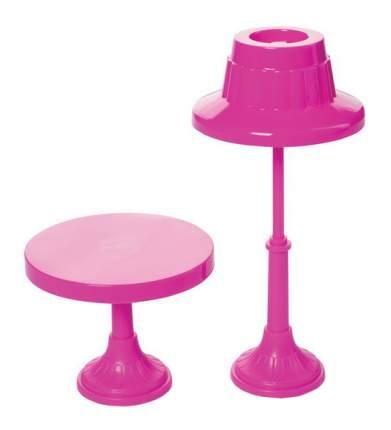 Мебель для кукол Огонек Торшер и столик