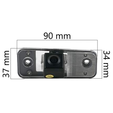 Камера заднего вида AVEL Electronics AVS326CPR-028 для Hyundai Santa Fe 2006 - 2012