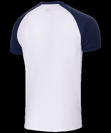 Футболка Jogel JFT-1011-019, белый/темно-синий, L INT