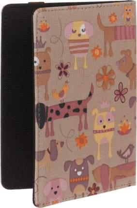 Чехол Vivacase для PocketBook 616/627/632 Doggy Textile Brown