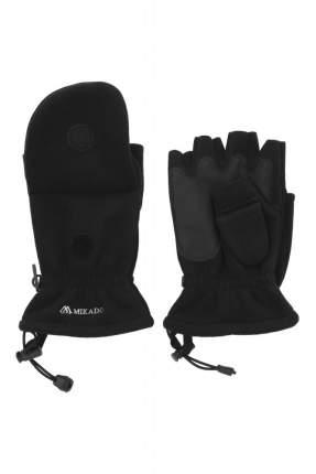 Перчатки-варежки мужские Mikado UMR-08B, черные, XL