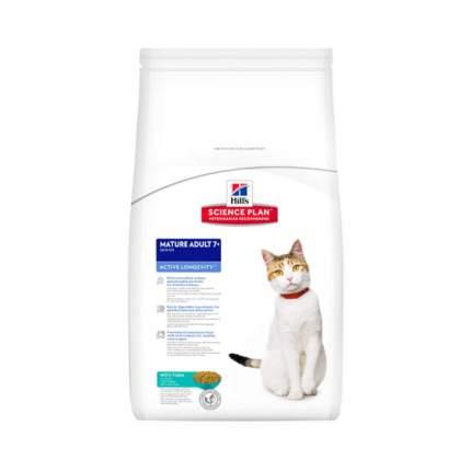 Корм для кошек Hill's Mature Adult 7+, тунец, 1шт, 2кг