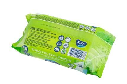 Влажная туалетная бумага Aura Comfort с крышкой, 80 шт