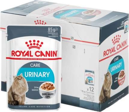 Влажный корм для кошек ROYAL CANIN Urinary Care, мясо, 85г