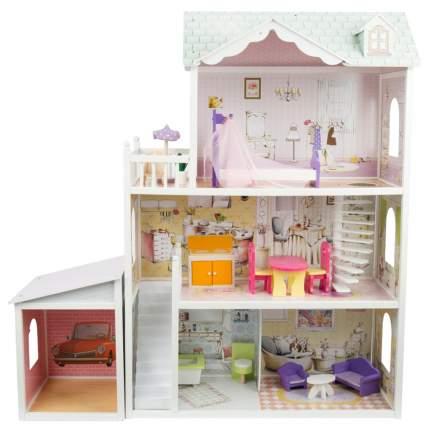 Кукольный дом Edufun с комплектом мебели 116,5x42x23,5