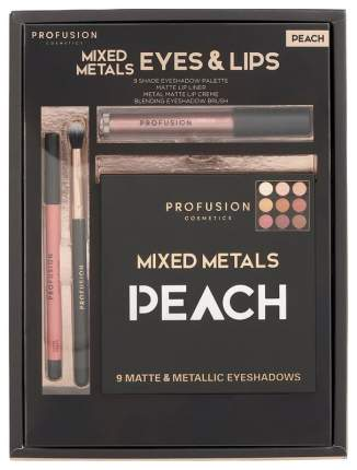 Набор для макияжа Profusion Mixed Metals Peach Set