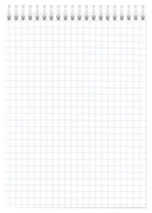 Блокнот А6 120л. арт. 45419/СВ/6 КОТИКИ НА БЕЛОМ