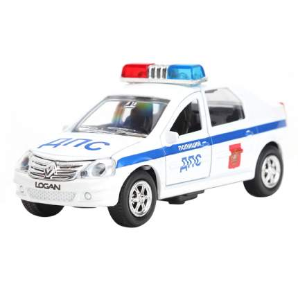 Машинка Технопарк Renault Logan 1:43 ДПС