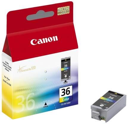 Картридж для струйного принтера Canon CLI-36 Color цветной, оригинал