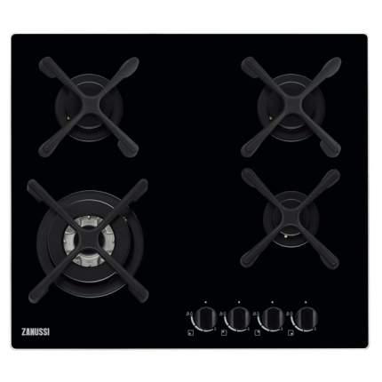 Встраиваемая варочная панель газовая Zanussi ZGO568434B Black