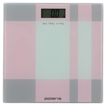 Весы напольные Polaris PWS 1849DG Розовый, серый