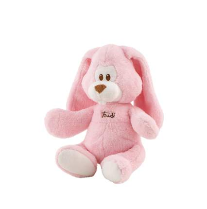 Мягкая игрушка Trudi Заяц Вирджилио (розовый), 36 см