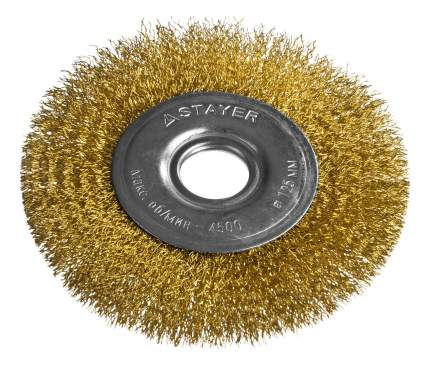 Дисковая кордщетка для угловых шлифмашин Stayer 35122-125