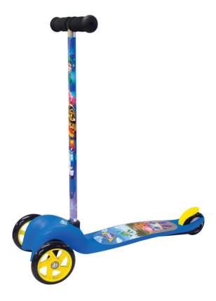 Самокат трехколесный Gulliver Poli Robocar 16POLI3W синий