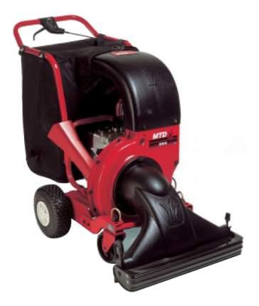 Садовый колесный пылесос MTD 202 OHV 24A-202K678