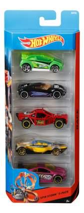 Набор пластиковых машинок Hot Wheels Spin Storm 1806 CDT22