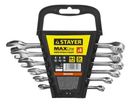 Набор комбинированных ключей Stayer 27085-H6