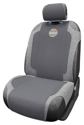 Чехол-майка на сиденье Autoprofi HOT HOT-650 D.GY/L.GY