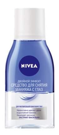 Средство для снятия макияжа с глаз NIVEA Двойной эффект 125 мл
